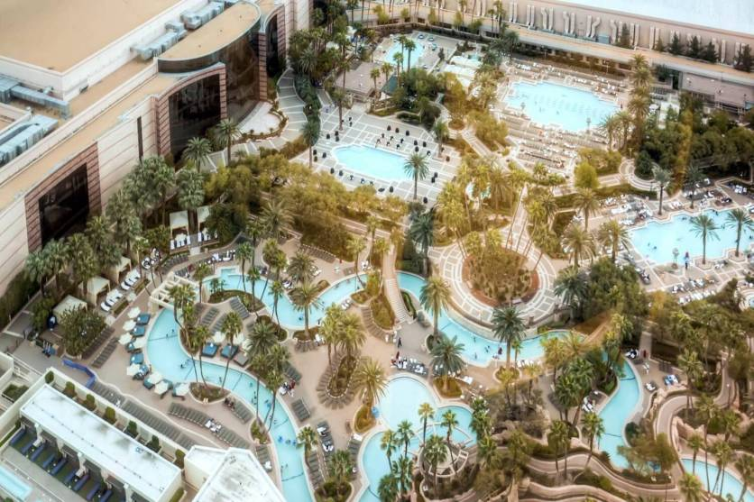 Lazy river so you don't even have to swim hungover