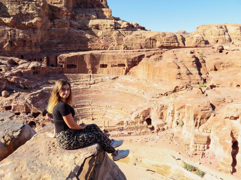 Petra theatre first century AD Nabatean Theatre